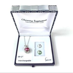 Charming Inspirations Swarovski Pendant Necklace